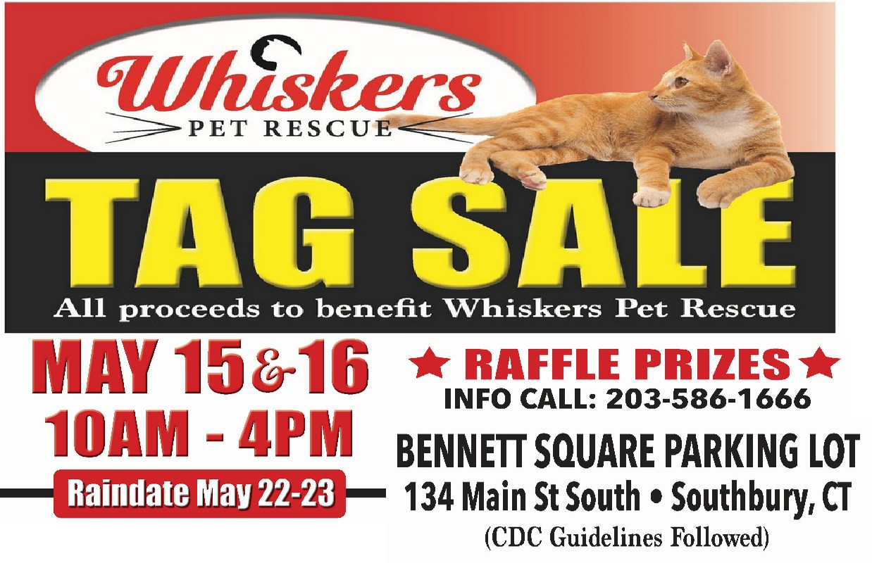 Whiskers Tag Sale May2021