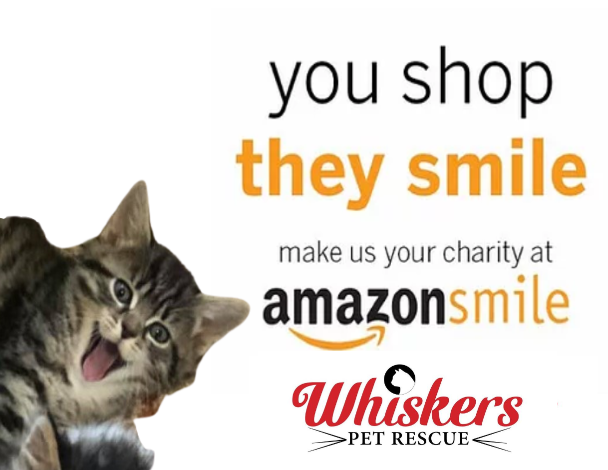 AmazonSmile - Choose Whiskers as your charity!